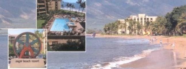 Maui Sugar Beach Condos on 5.5 miles of white sand Sugar Beach Resort