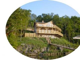 Poco Risco Lakefront Log Homes Lake of the Ozarks