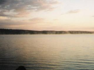 SUNSETS ON SEBEC LAKE