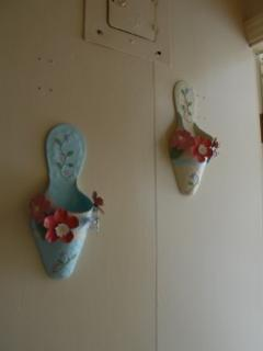 Slippers wall art