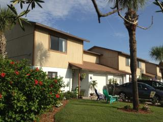 1 of 4 town homes in a quiet, safe beachside neighborhood.
