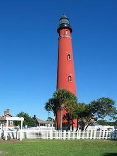 Famous Ponce Inlet Lighthouse