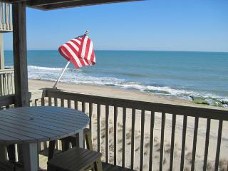 Sunny 2BR Kure Beach Condo w/ Ocean Views, Indoor & Outdoor Pools, and Elevator - The Beach is Your Backyard!