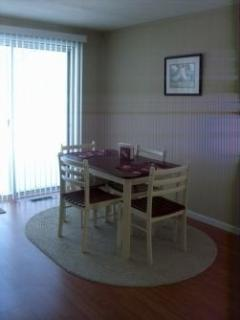 Dinette with walkout to Deck