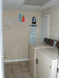 Washer/Dryer,  Iron/Board