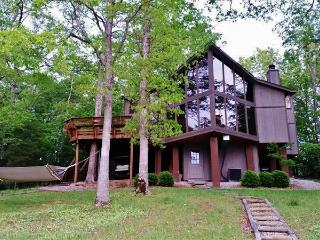 Expansive 3BR Waterfront Chalet in Innsbrook Resort w/Wifi & Huge Yard - Golf Cart, Boats, & Kayaks Provided!