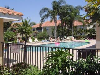 Beautiful  pool with hot tub/grills available.