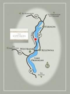 map of Okanagan Lake