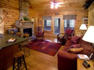 Cabin 4BR/BA: Close to SDC, nestled on 300 acres.