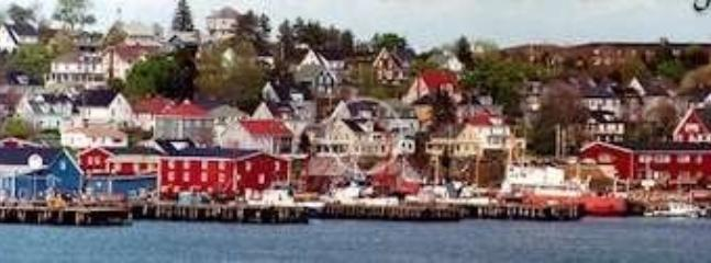 Right on Lunenburg's historic waterfront