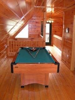 Pool table - upstairs