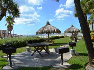 Ocean front Grills and Picnic Tables
