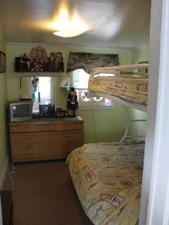 Bunk bed , Full on bottom , twin on top , TV/cable