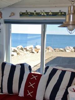 Ocean view window seat
