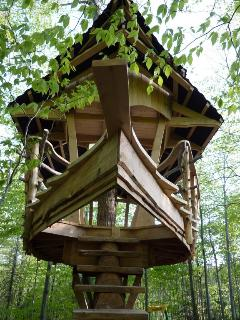 Our beautiful treehouse