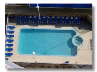 Main Pool From Our Balcony with Hot Tub