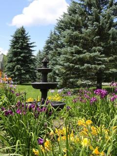 Carriage house fountain