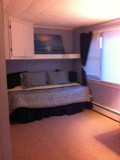 Updated  with Brand new Trundle l bed and a roll away twin in the closet