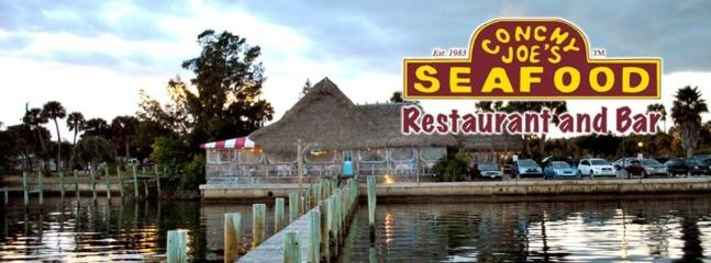 Jensen Beach Known as the little Florida Keys- 5 miles from rental- Famous Conchy Loe's
