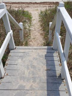 Foot Steps to the Beach