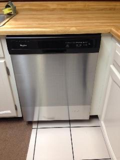 And new dishwasher!