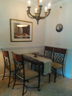 Our Ground Floor Condo Dining,Waterscape,Fort Walton Beach/Destin,Florida.