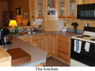 The kitchen with pantry