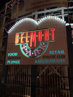 Visit Belmont Amusement Park to the north on the Boardwalk.