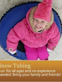 Tubing at Ski Big Bear