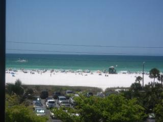 Siesta Key Beachfront Condo with Gulf View!