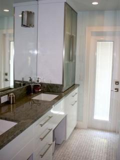 New Marble Bathroom