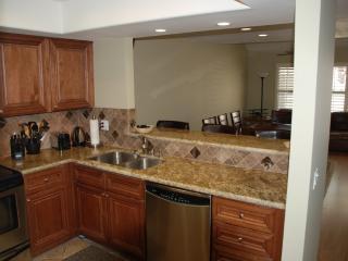 Kitchen bar/serving area for dining room
