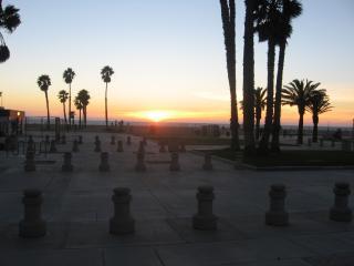 S.M. Beach Sunset