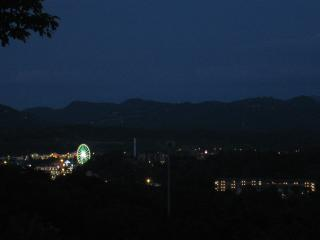 Awesome View of the Big Wheel at the Island in Pigeon Forge