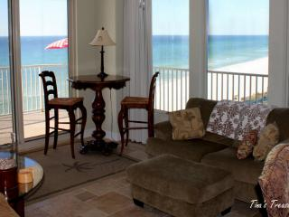Tina's Treasure Island Luxury Beach Condo-3BR 6th Flr-Free Beach Chairs/Umbrella, Panama City