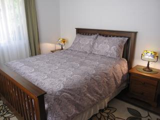 Queen Bed on Right Unit