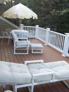 Master suite sun deck