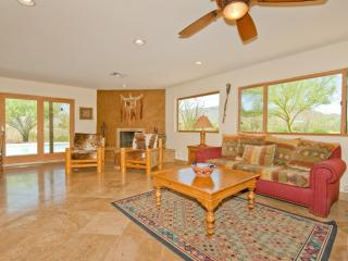 Enjoy Pool and Sonoran Desert Views from Fam Room