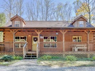 Delightfully Rustic 2BR Hendersonville Cabin w/Loft, Spacious Deck & Wonderful