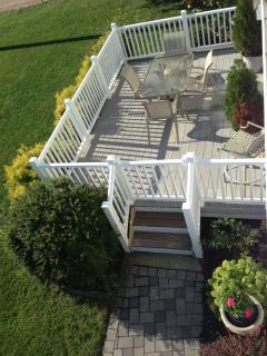 New gated deck