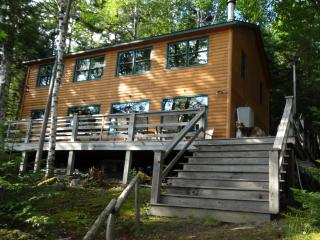 Mooselookmeguntic lakefront cabin rental Rangeley, Oquossoc