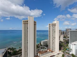 Spectacular View  27th Floor Waikiki Condo-For 4-8, Honolulu