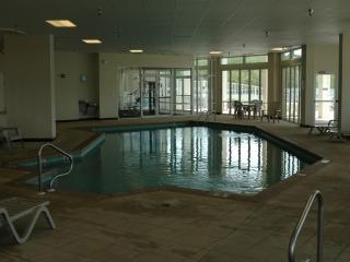 INDOOR POOL AND EXERCISE ROOM