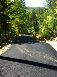 Newly Paved Driveway