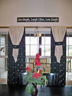 Whole home is professionally furnished and decorated