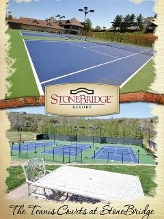3 Tennis Courts near the clubhouse.