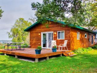 2BR Lakefront Henning Cabin w/Fantastic Lake Views