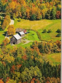 Yankee Magazine photo of Farmhouse scenic location
