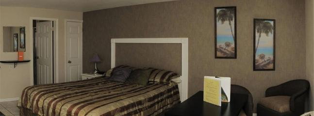 Urban Modern Queen Suite with pullout bed built in