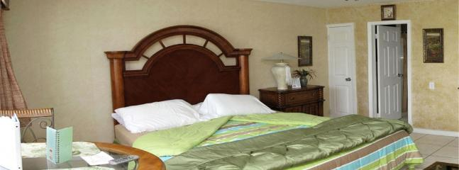 Intimate King Suite with beautiful furnishings